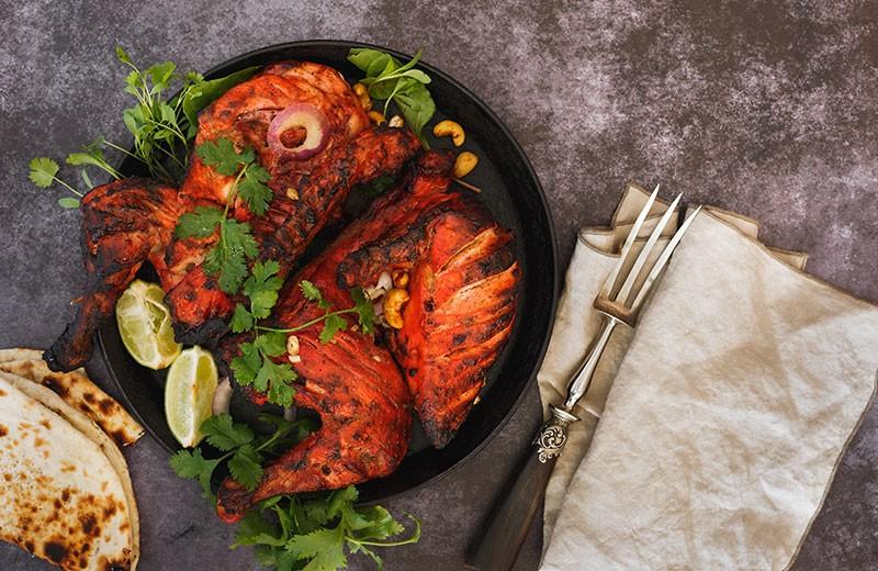 Recette blancs de poulet au tandoori