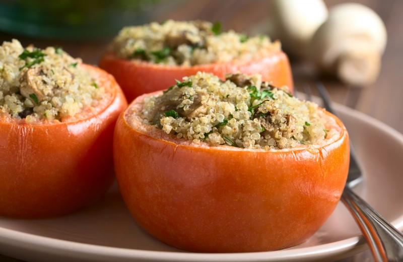 Recette tomates farcies végétariennes
