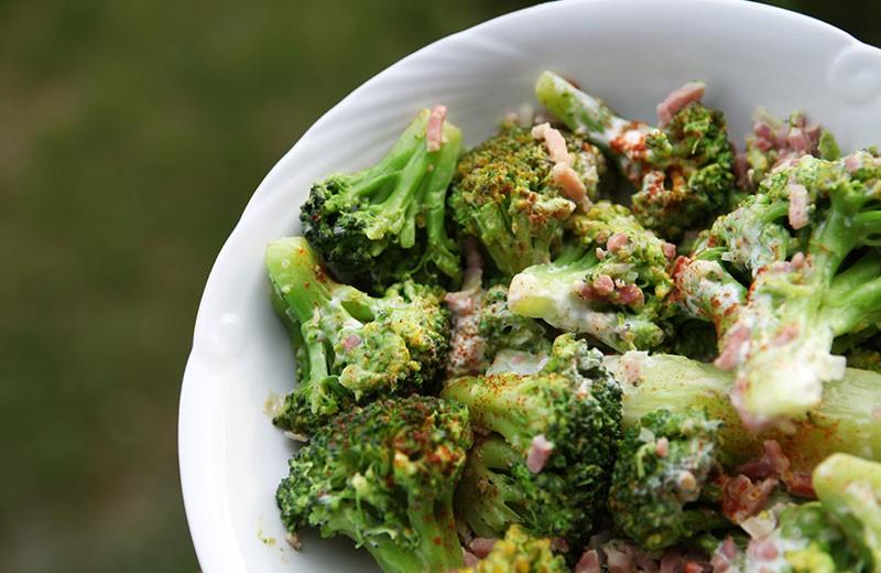 Recette brocolis sautés aux lardons
