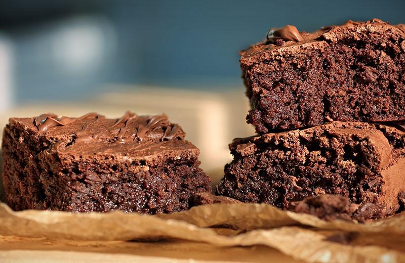 Recette brownie au chocolat light