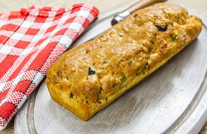 Recette cake aux olives noires