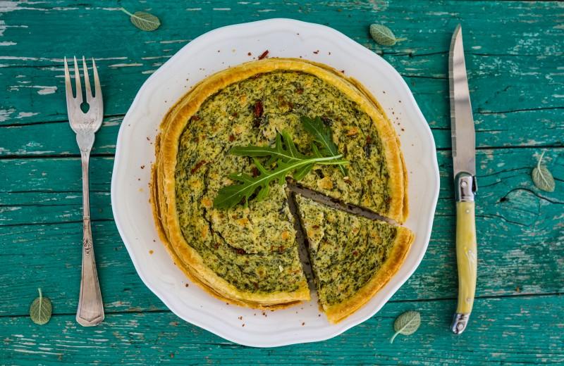 Recette tarte au saumon et à l'oseille