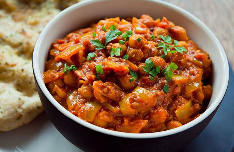 Recette curry d'aubergines au lait de coco