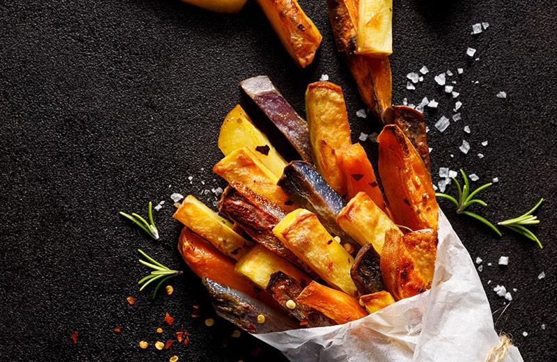 Recette frites de légumes