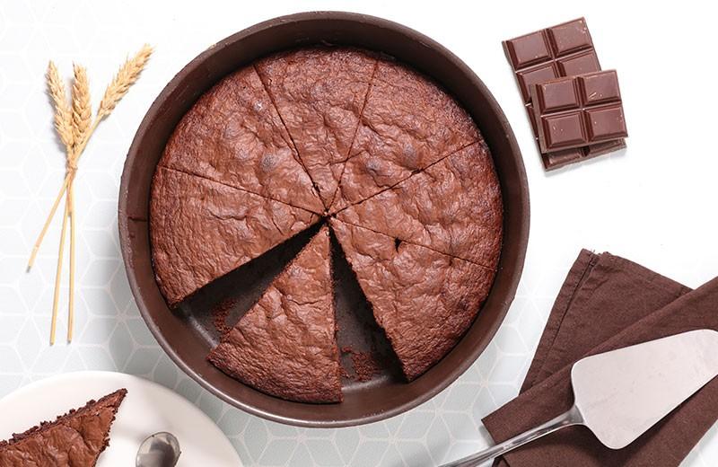 Recette gâteau au chocolat light