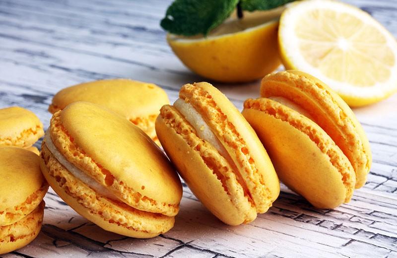 Recette macarons au citron