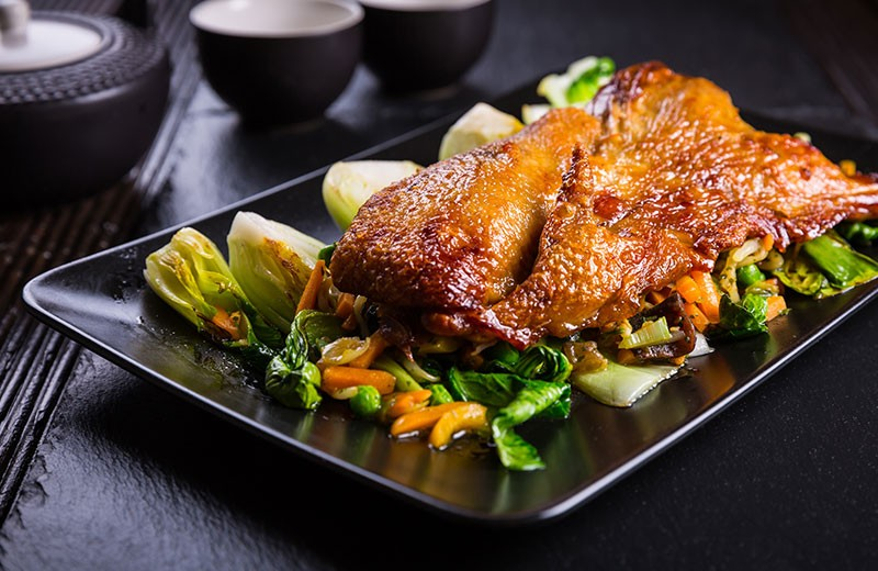 Recette magrets de canard aux épices et choux chinois