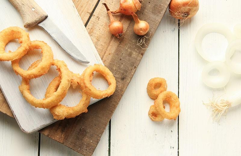 Recette onion rings