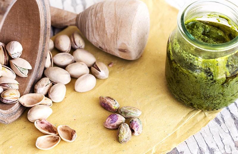 Recette pesto à la pistache et coriandre