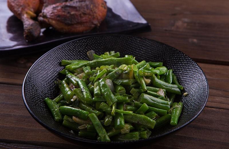 Recette poêlée de haricots verts