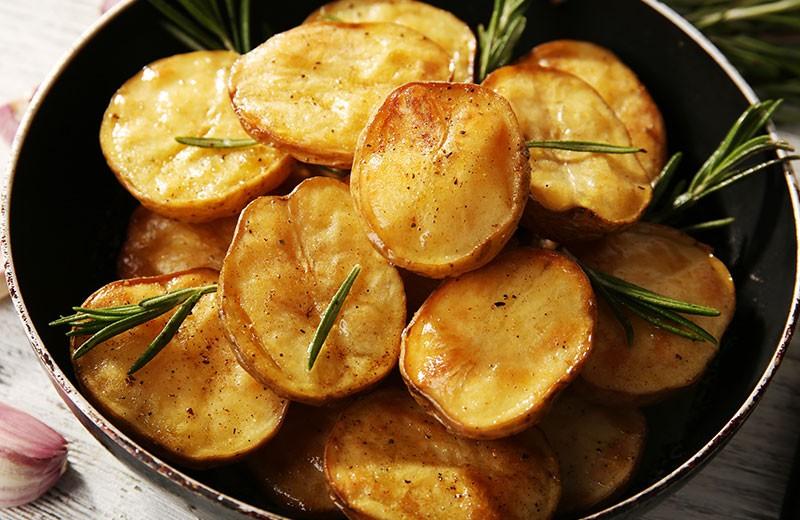 Recette pommes de terre soufflées