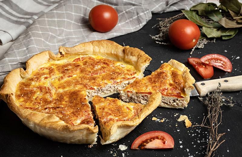 Recette quiche thon tomates
