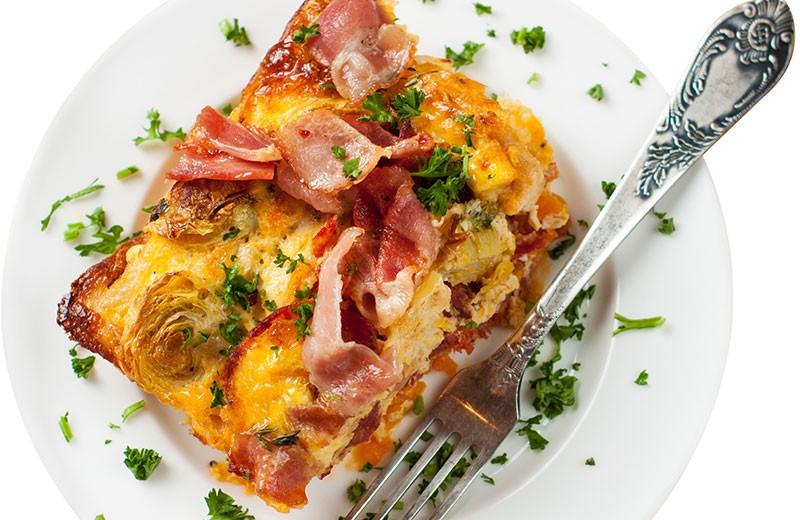 Recette quiche lard et pommes de terre façon tatin