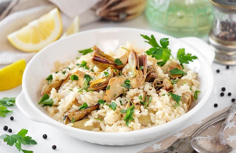 Recette risotto à l'artichaut