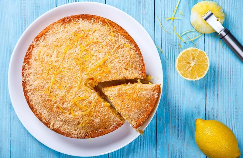 Recette gâteau moelleux au citron