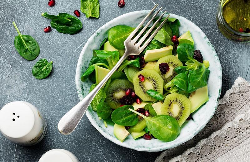 Recette salade d'avocat au kiwi