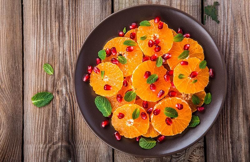 Recette salade de clémentines