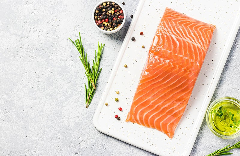 Recette saumon mariné à l'huile d'olive