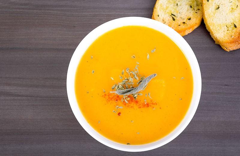 Recette soupe de rutabagas aux carottes