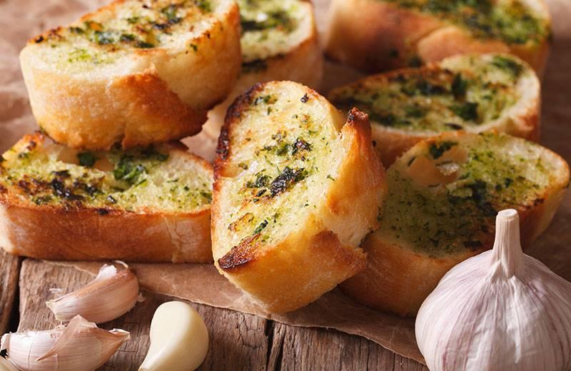 Recette garlic bread