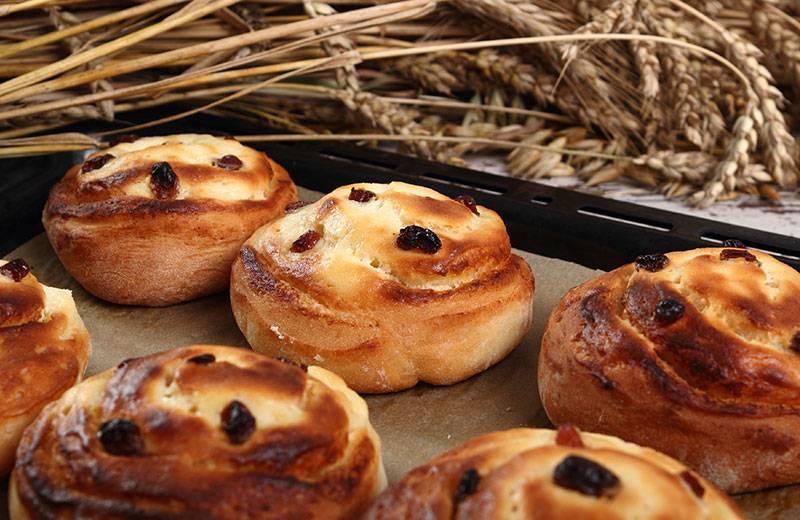Recette petits pains aux raisins