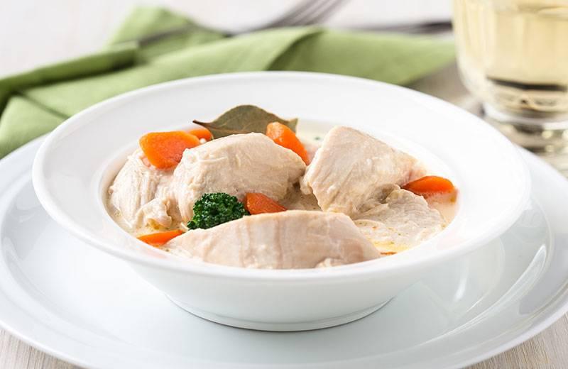 Recette blanquette de poulet