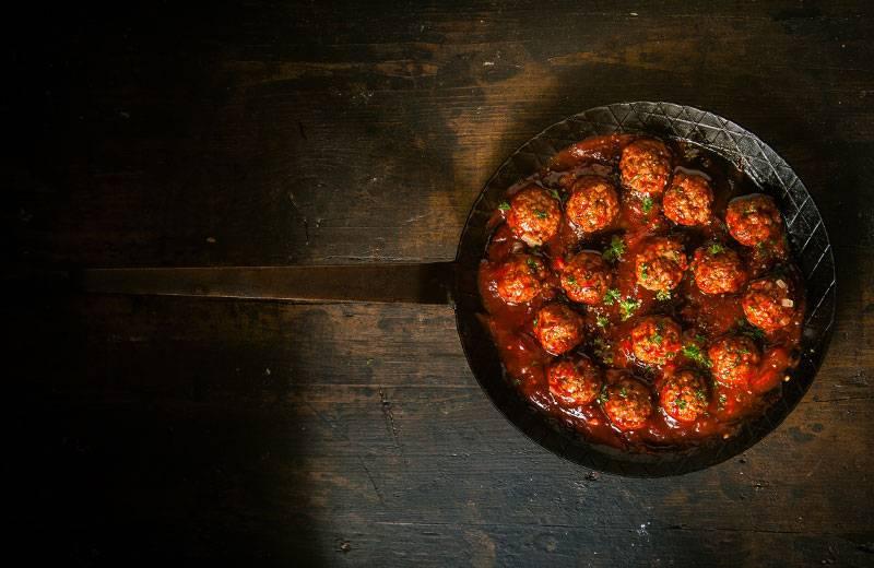 Recette boulettes de boeuf et sauce tomate